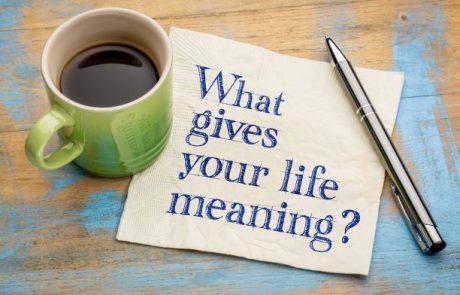 המתכון ליצירת משמעות